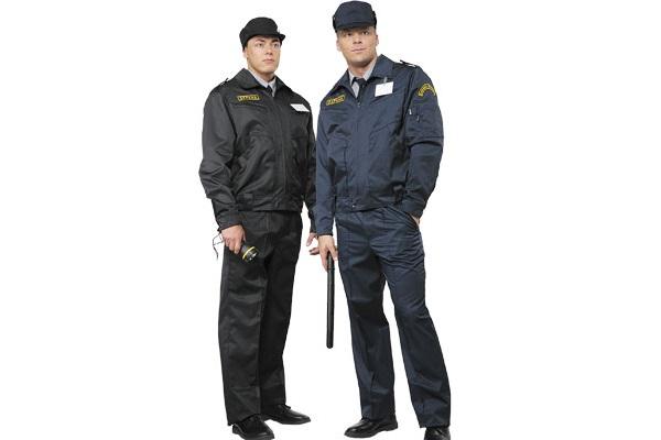 Каким должен быть костюм охранника?
