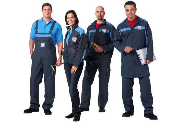 Какой должна быть спецодежда работников автосервиса?
