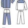 """Костюм сварщика брезентовый с накладками из спилка """"Модель 2.3"""" с брюками (II класс защиты)"""