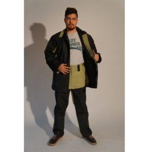 """Костюм сварщика брезентовый с накладками из спилка """"Модель 2.6/1"""" с брюками"""