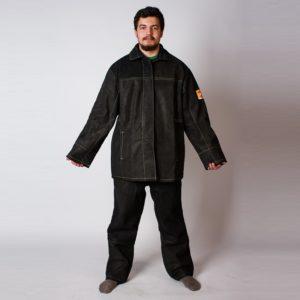 Костюм сварщика цельноспилковый с брюками