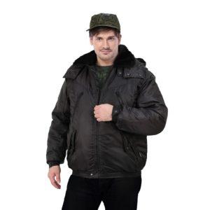 """Куртка мужская утепленная """"Караул"""" с капюшоном"""