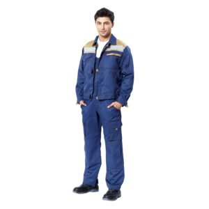 """Куртка рабочая """"Ральф"""" цв.синий/беж"""