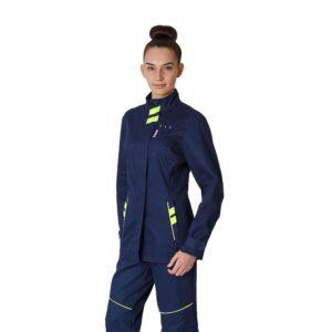 """Куртка рабочая удлиненная женская """"PROLINE SPECIALIST"""" 100% хлопок"""