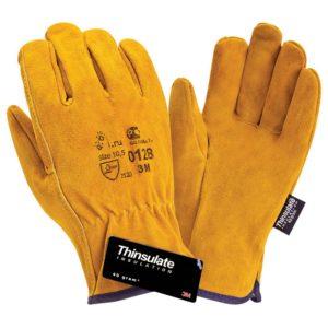 """Спилковые утепленные перчатки """"TZ-83 Siberia Thinsulate"""""""