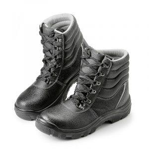"""Высокие ботинки """"Строитель"""" ПУ с МП - 10."""