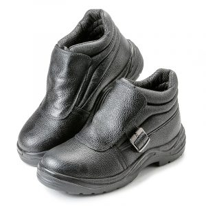 Ботинки для сварщика «Строитель» ПУ/НИТРИЛ, МП - 5.