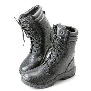 """Ботинки с высоким берцем """"Строитель"""" ПУ с МП - 5."""