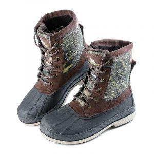 Ботинки с высоким берцем «Треккинг» (иск. мех) - 2.