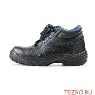 """Ботинки рабочие кожаные """"Строитель"""" ПУ - 8."""