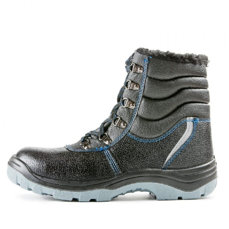 Высокие ботинки «Строитель» ПУ/ПУ с МП (иск.мех) - 2.