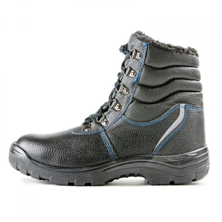 Ботинки с высоким берцем «Строитель» ПУ с МП (иск.мех) - 2.