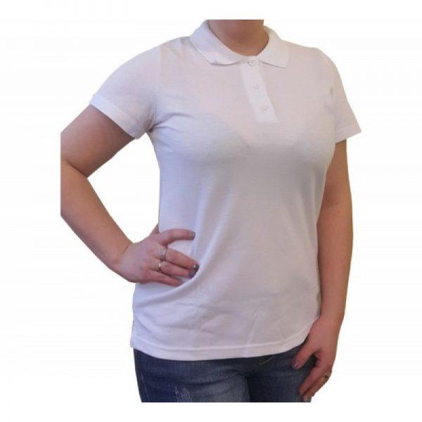 Рубашка поло женская 210 г/м² - 2.
