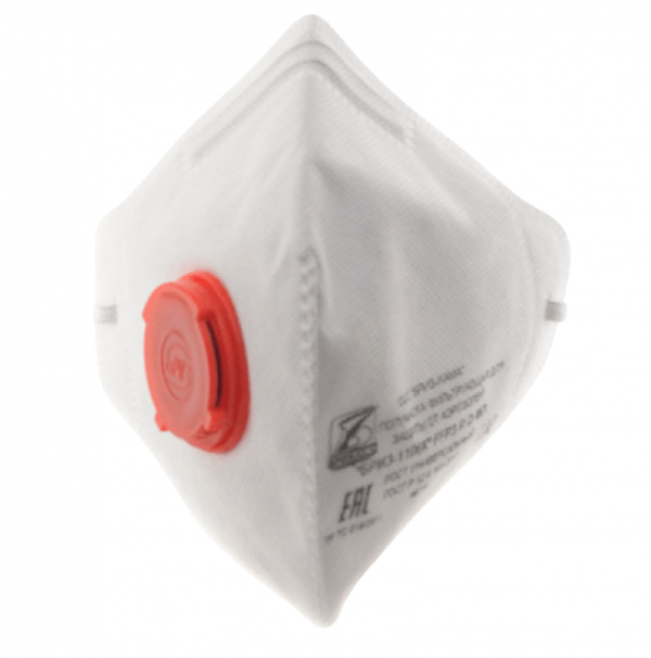 respirator s klapanom briz  k ffp